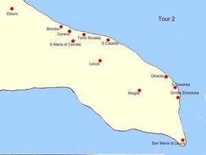 Apulien Karte Strände.Strände Apulien Karte Hanzeontwerpfabriek